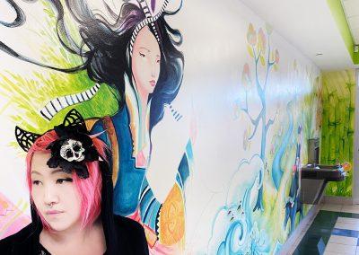 A Millennium of Dreams Mural